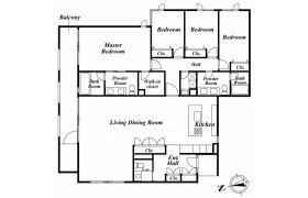 港區西麻布-4LDK公寓