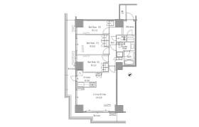 3LDK Apartment in Toyosu - Koto-ku