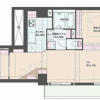 1SLDK Apartment to Buy in Taito-ku Floorplan