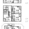 Whole Building Apartment to Buy in Suginami-ku Floorplan