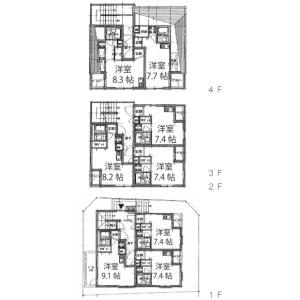 Whole Building {building type} in Koenjiminami - Suginami-ku Floorplan