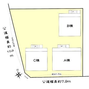 Whole Building {building type} in Kamisuge - Nagoya-shi Meito-ku Floorplan