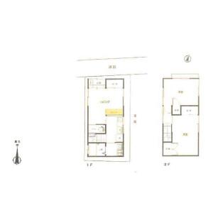2DK {building type} in Izumi - Suginami-ku Floorplan