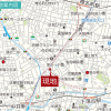 3LDK Apartment to Buy in Shinjuku-ku Access Map