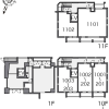1R Apartment to Rent in Minato-ku Layout Drawing