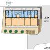 在港区内租赁1K 公寓大厦 的 地图