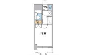 1R {building type} in Chitose - Sumida-ku