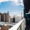 1R Apartment to Rent in Osaka-shi Naniwa-ku Balcony / Veranda