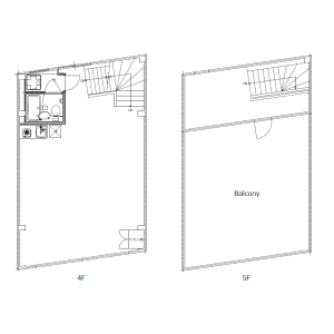 1LDK Mansion in Hatagaya - Shibuya-ku Floorplan