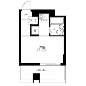1K Mansion in Minamimachi - Kawasaki-shi Kawasaki-ku Floorplan
