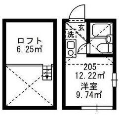 1R Apartment in Higashiueno - Taito-ku Floorplan