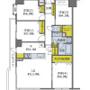 4LDK Apartment to Buy in Suita-shi Floorplan
