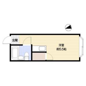 1R Apartment in Ikebukuro (2-4-chome) - Toshima-ku Floorplan
