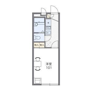 1K Apartment in Sasanodai - Yokohama-shi Asahi-ku Floorplan