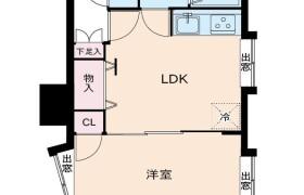 1LDK {building type} in Hakataeki higashi - Fukuoka-shi Hakata-ku