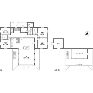 北佐久郡軽井沢町軽井沢(大字)-4LDK{building type} 房間格局