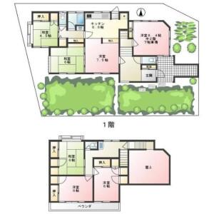 6LDK {building type} in Imaizumidai - Kamakura-shi Floorplan