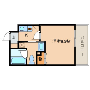 1K Mansion in Shinkawa - Chuo-ku Floorplan
