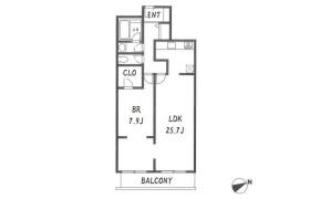 港區西麻布-1LDK公寓