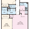 2LDK Apartment to Buy in Yokohama-shi Kohoku-ku Floorplan