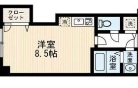 1DK Apartment in Ogusu - Fukuoka-shi Minami-ku