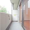 1DK Apartment to Rent in Shinjuku-ku Balcony / Veranda