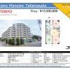 3DK Apartment to Buy in Adachi-ku Map