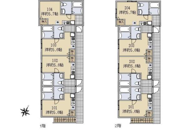 Whole Building Apartment to Buy in Yokohama-shi Minami-ku Floorplan