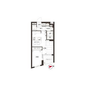 1LDK {building type} in Koenjiminami - Suginami-ku Floorplan