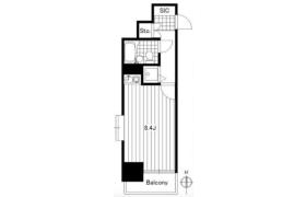 台東區花川戸-1R{building type}