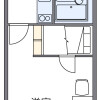 1K Apartment to Rent in Fukuoka-shi Hakata-ku Floorplan