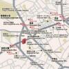 1LDK Apartment to Rent in Meguro-ku Access Map