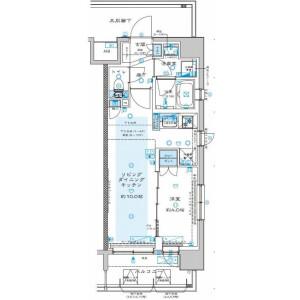 1LDK Mansion in Namiki - Kawaguchi-shi Floorplan