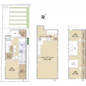 2LDK {building type} in Nishihara - Shibuya-ku Floorplan