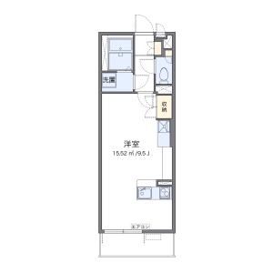 1R Mansion in Tokura - Kokubunji-shi Floorplan