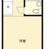 1R Apartment to Buy in Tachikawa-shi Floorplan