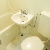 1R Apartment to Rent in Ota-ku Bathroom
