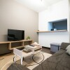 1LDK Apartment to Rent in Sapporo-shi Chuo-ku Living Room