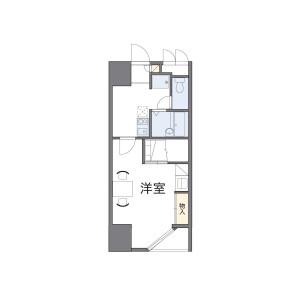 1K Mansion in Minami5-jonishi - Sapporo-shi Chuo-ku Floorplan