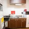 1LDK Apartment to Rent in Kyoto-shi Kamigyo-ku Kitchen