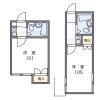 1R Apartment to Rent in Yokohama-shi Isogo-ku Floorplan