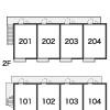 1K Apartment to Rent in Nakano-ku Access Map