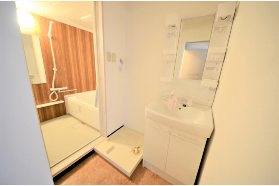 2LDK Apartment to Buy in Kyoto-shi Yamashina-ku Washroom