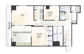 3SLDK Apartment in Shirokanedai - Minato-ku