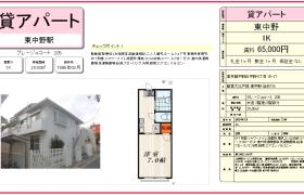 1K Mansion in Higashinakano - Nakano-ku