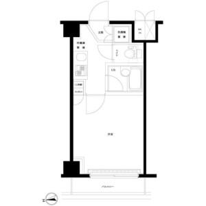 1K Mansion in Hamadayama - Suginami-ku Floorplan