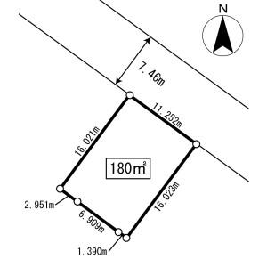 Land only {building type} in Yamada - Abuta-gun Kutchan-cho Floorplan