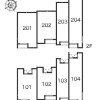 1K Apartment to Rent in Musashino-shi Floorplan