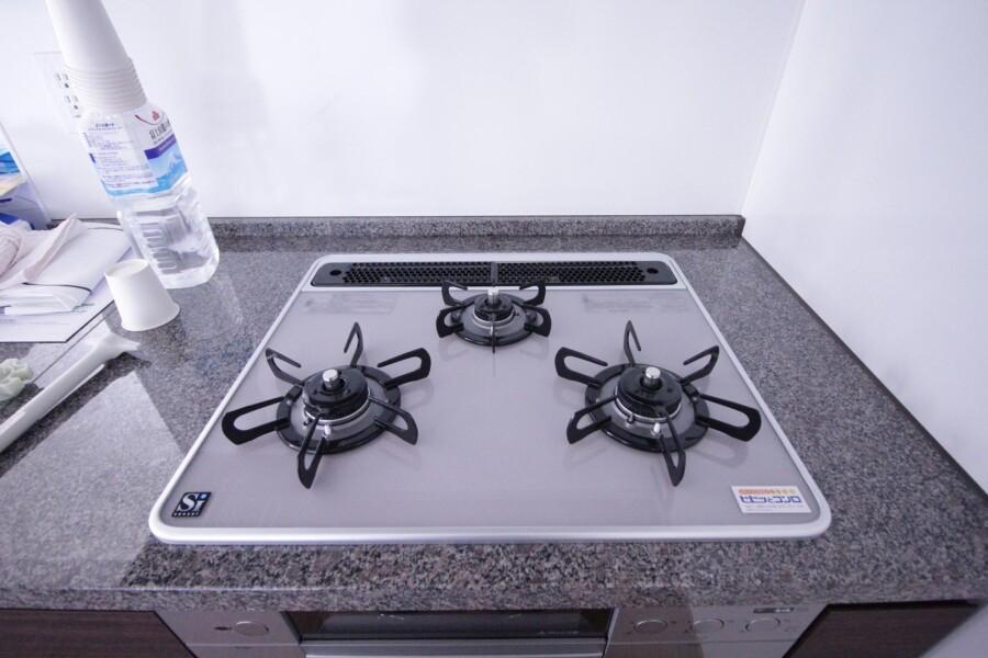3LDK Apartment to Rent in Yokohama-shi Aoba-ku Kitchen