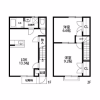 2DK Apartment to Rent in Koshigaya-shi Floorplan